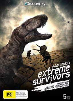 Dinosaurs: Extreme Survivors (5 Disc Set) on DVD image