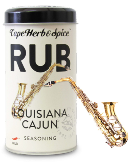 Cape Herb: Louisiana Cajun Rub 100g