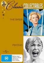 Birds / Psycho - Classic Collectables (2 Disc Set) on DVD