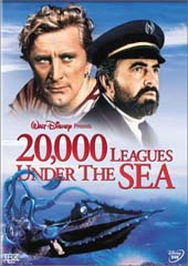20,000 Leagues Under the Sea (1954) on DVD