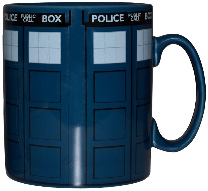 Doctor Who - Tardis Mega Mug image