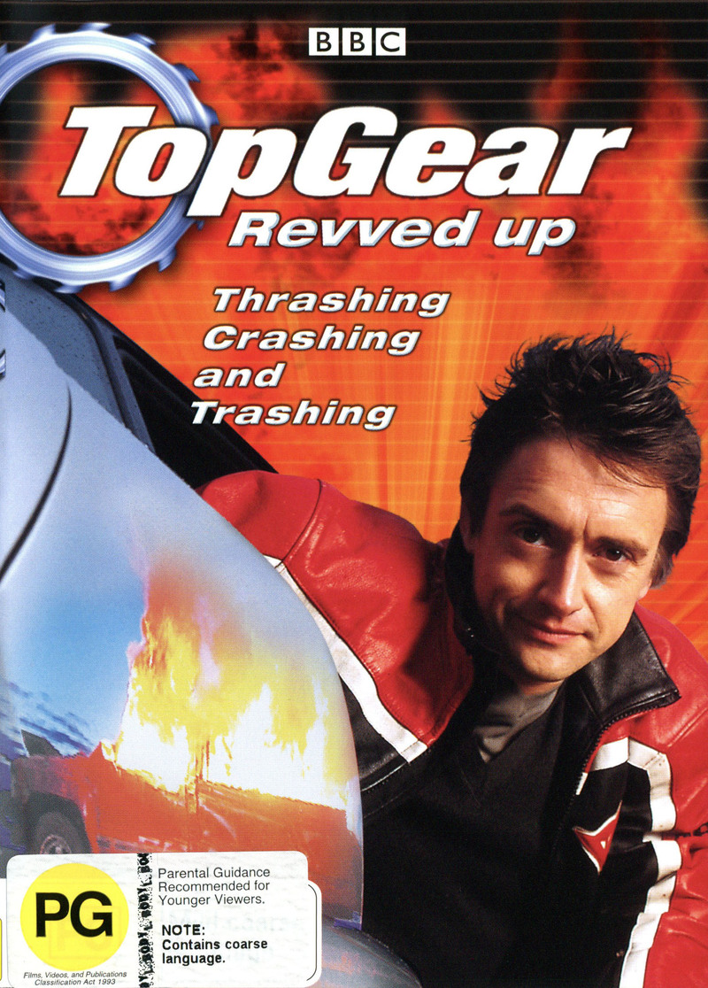 Top Gear - Revved Up on DVD image