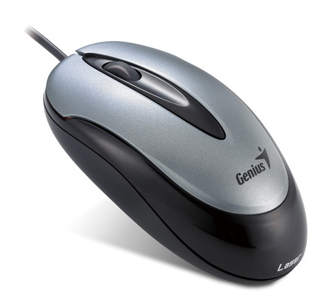 Genius Traveler 100V Stylish Optical Mouse U+P LASER