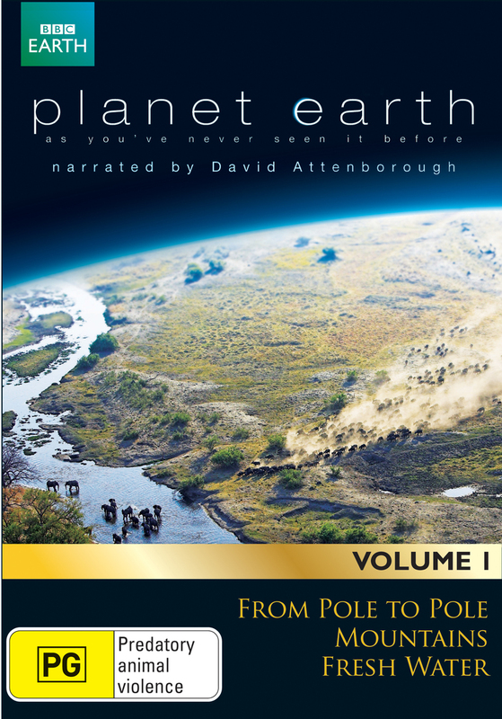 David Attenborough's Planet Earth Collection - Volume 1 on DVD