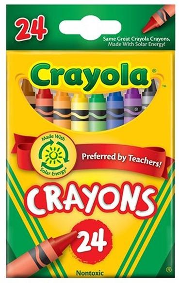 Crayola: 24 Crayons image