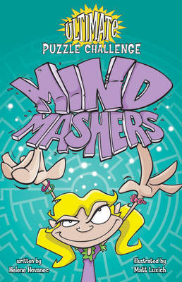 Ultimate Puzzle Challenge: Mind Mashers by Helene Hovanec image