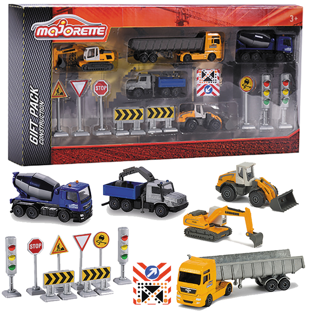 Majorette: Construction - Big Gift Pack