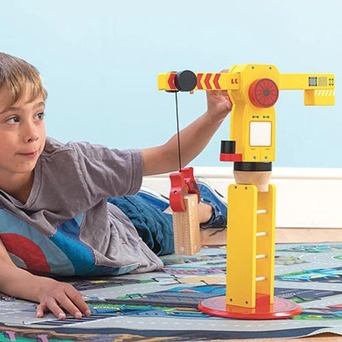 Le Toy Van: The Big Wooden Crane image