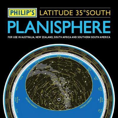 Philip's Planisphere (Latitude 35 South)