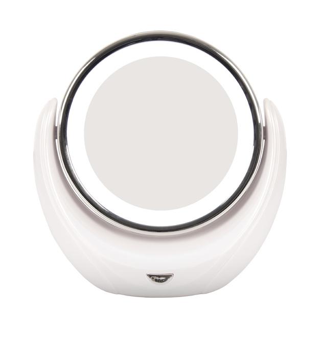 Illuminated 5x Magnifying Makeup Mirror
