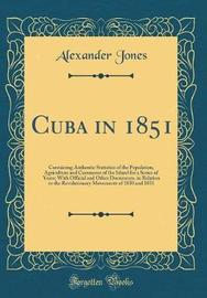 Cuba in 1851 by Alexander Jones image
