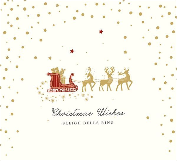 Art Marketing: Boxed Christmas Cards - Sleigh Bells Ring