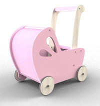 Moover Baby Doll's Pram - Hot Pink