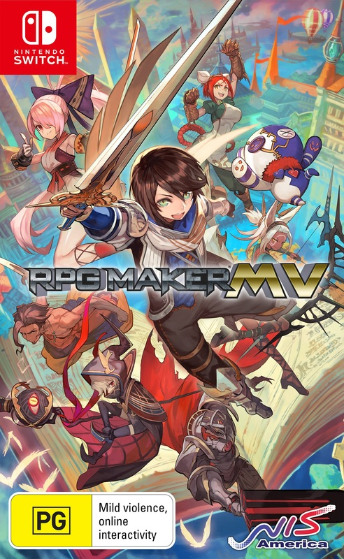 RPG Maker MV for Switch