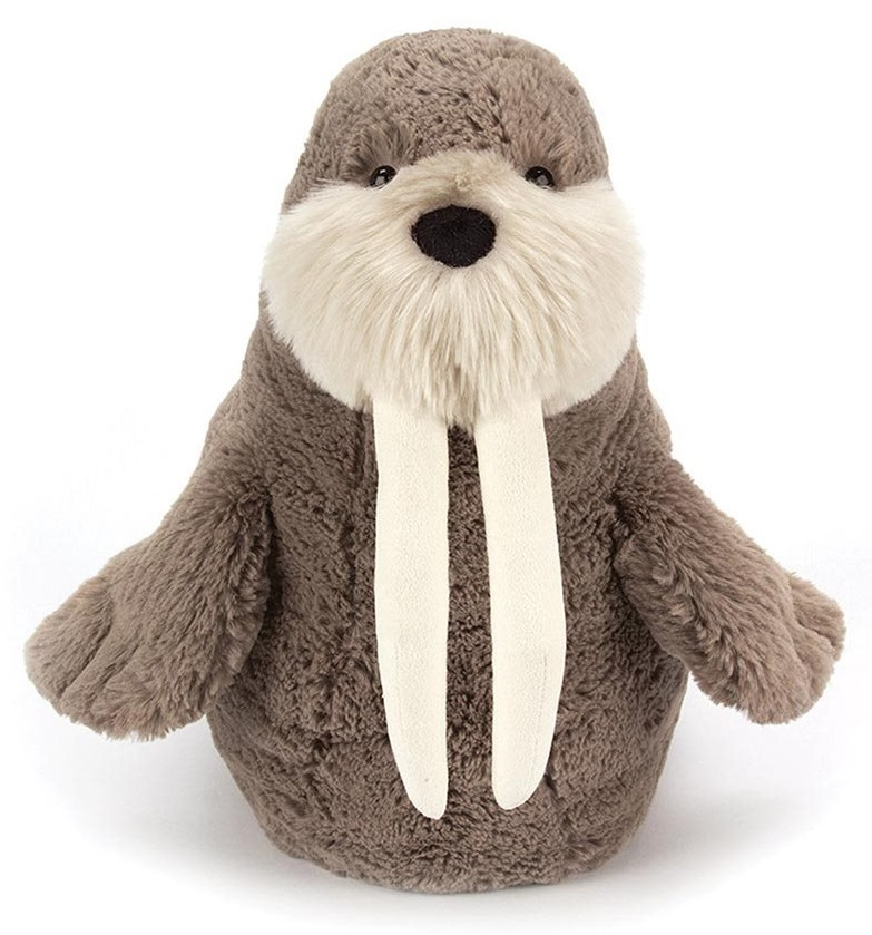 "Jellycat: Willie Walrus - 15"" Plush image"