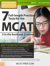 7 Full-Length MCAT Practice Tests: 5 in the Book and 2 Online by Brett Ferdinand