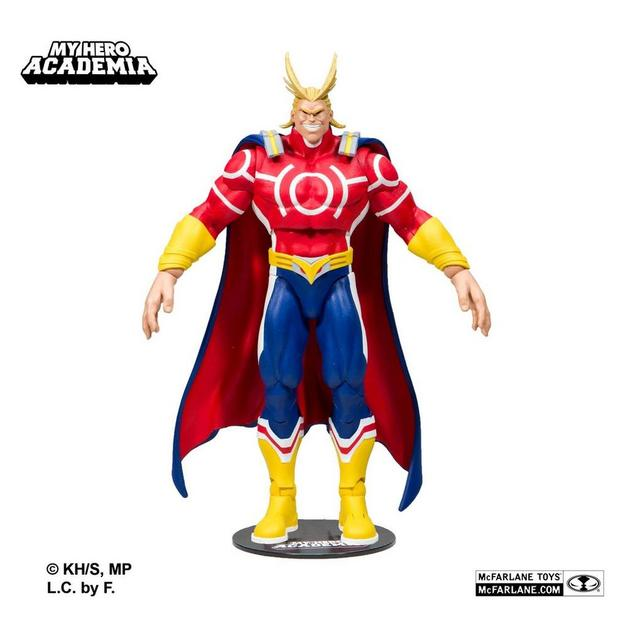 """My Hero Academia: All Might (Silver Age) - 7"""" Articulated Figure"""