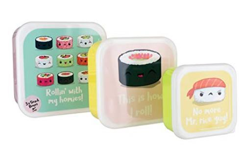 My Kawaii Sushi Snack Boxes