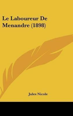 Le Laboureur de Menandre (1898) by Jules Nicole