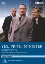 Yes Prime Minister - Series 2 on DVD
