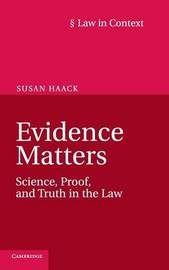 Law in Context by Susan Haack