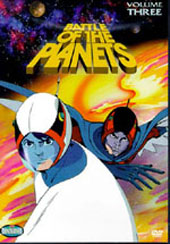 Battle Of The Planets - Vol 3 on DVD