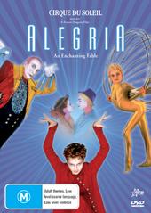 Cirque Du Soleil - Alegria on DVD