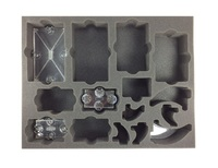 "Battle Foam: Star Wars Armada - Flight Stands & Stems Foam Tray (BFL - 1.5"") image"