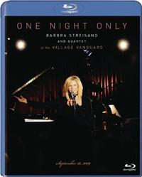 One Night Only: Barbra Streisand on Blu-ray