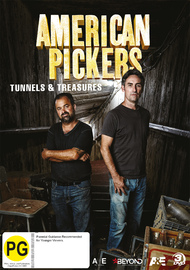 American Pickers: Tunnels & Treasures on DVD