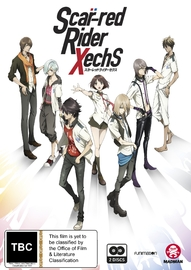 Scar-red Riders Xechs - The Complete Series (Subtitled Edition) on DVD