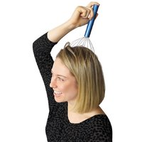 StressHead Vibrating Head Massager - Silver