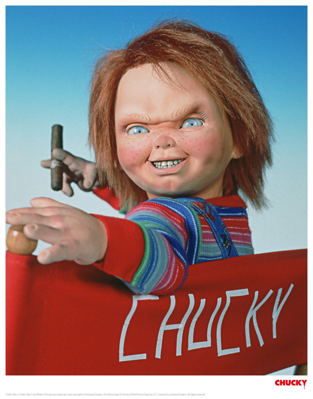 Child's Play: Premium Art Print - Director Chucky