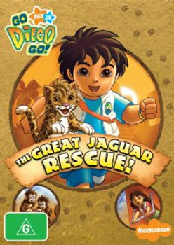 Go Diego Go! - The Great Jaguar Rescue! on DVD