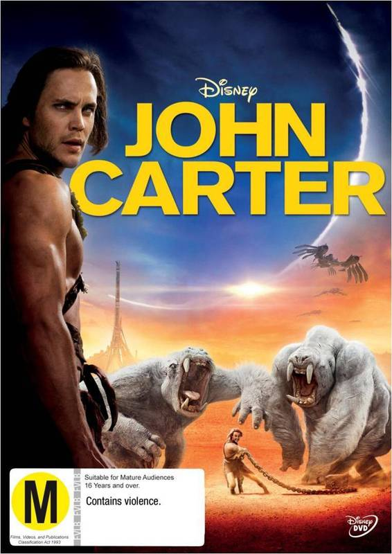 John Carter on DVD