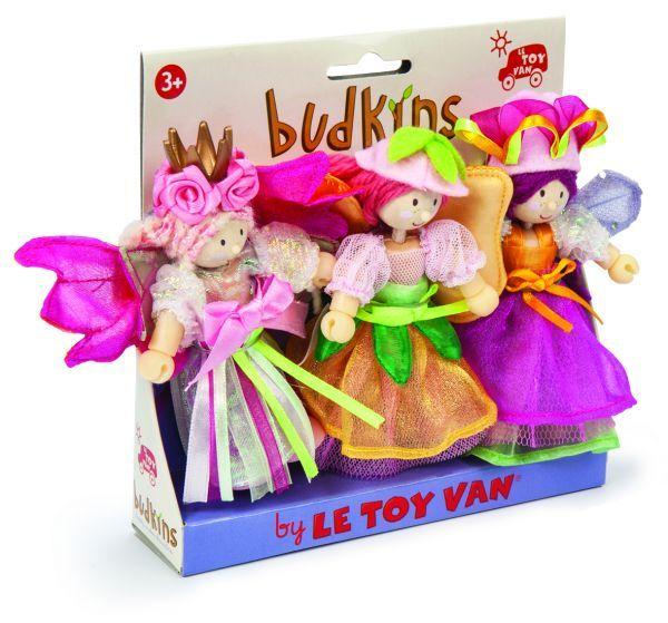 Le Toy Van: Budkins - Garden Fairies Set