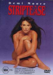 Striptease on DVD