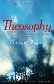 Theosophy by Rudolf Steiner image