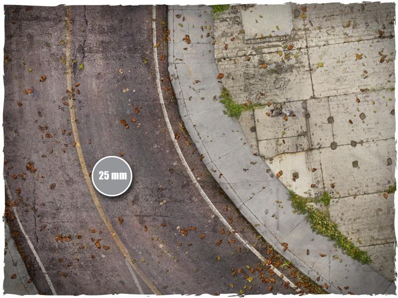 DeepCut Studio Walking Dead Town Mat (6x4) image