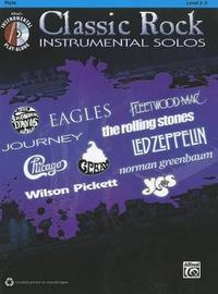 Classic Rock Instrumental Solos: Flute, Book & CD by Alfred Publishing