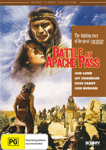 Battle at Apache Pass on DVD image