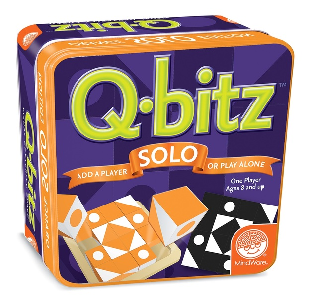 Mindware Games: Q-bitz Solo - Orange Edition