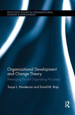 Organizational Development and Change Theory by Tonya Henderson image