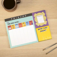 Friends - Weekly Desk Planner