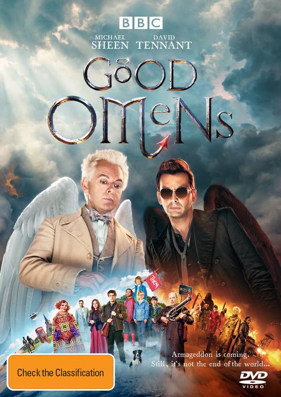Good Omens on DVD