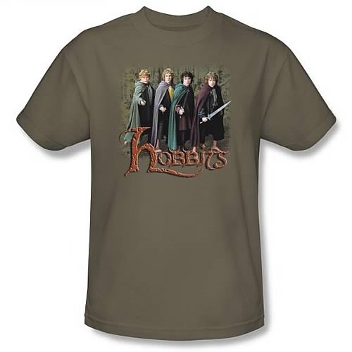 Lord of the Rings: Hobbits Green T-Shirt - Small