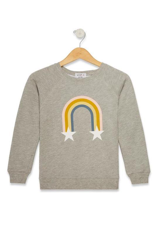 Sommers Sweatshirt - Rainbow Stars (Size XS)