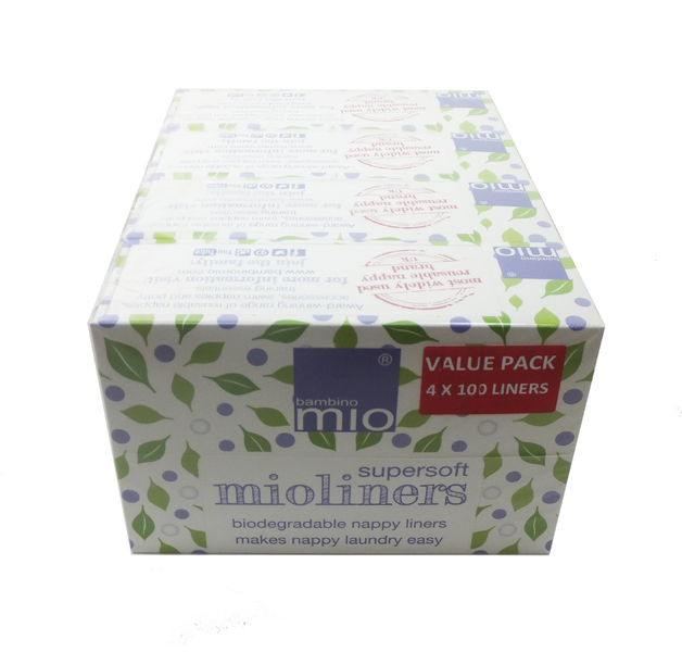 Bambino Mio: Liners - 4 Pack Value Pack