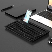 Multi-device Bluetooth Keyboard for Ipad Tablet - Black