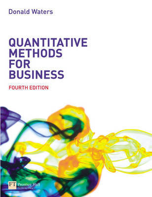 Quantitative Methods for Business by Donald Waters image
